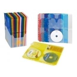 FUNDA CD/DVD CARCHIVO PP A4...