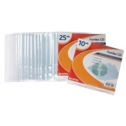 FUNDA CD/DVD GRAFOPLAS PP...