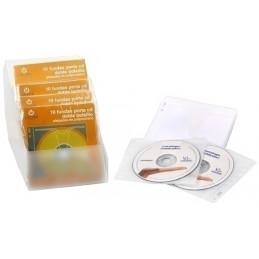 PORTA-CD DOBLE PP ACOLCHADO...