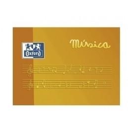 BLOC DE MÚSICA OXFORD A5...