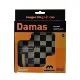 JUEGO MAGNÉTICO DAMAS 16 CMTS