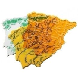 PLANTILLAS 3 MAPAS ESPAÑA...