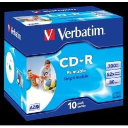 CD-ROM VERBATIM 700 MB 52X...