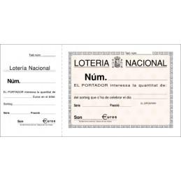 TALONARIO CATALÁN LOTERÍA...