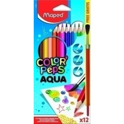 LÁPICES ACUARELABLES MAPED...