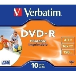 DVD -R Verbatim 4,7 Gb....